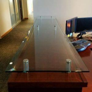 Glass Transaction Top