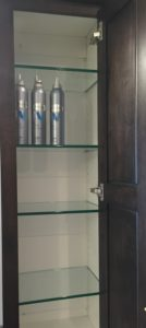 Tempered Cabinet Shelves